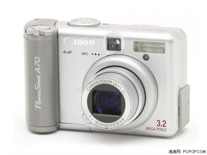 能A70 数码相机 支持大头贴拍照 甩299元