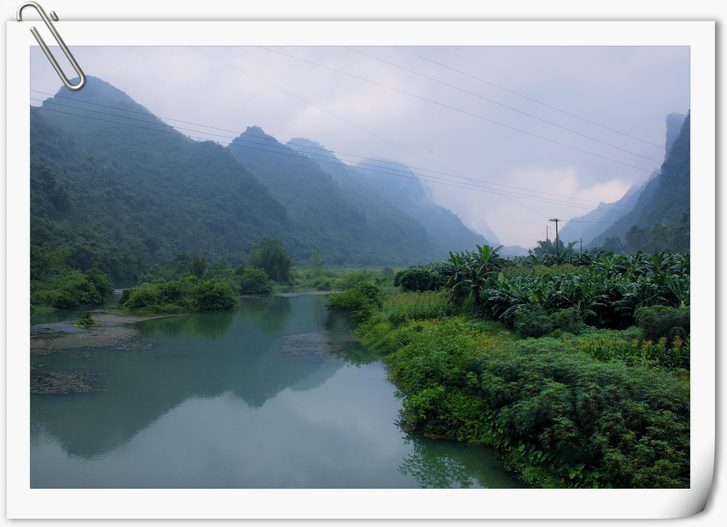 雨中的倒影,眼前不是风景,是山水画