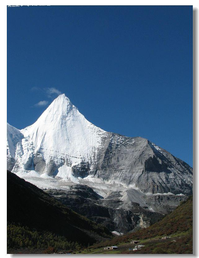 雪山风景手机壳图片