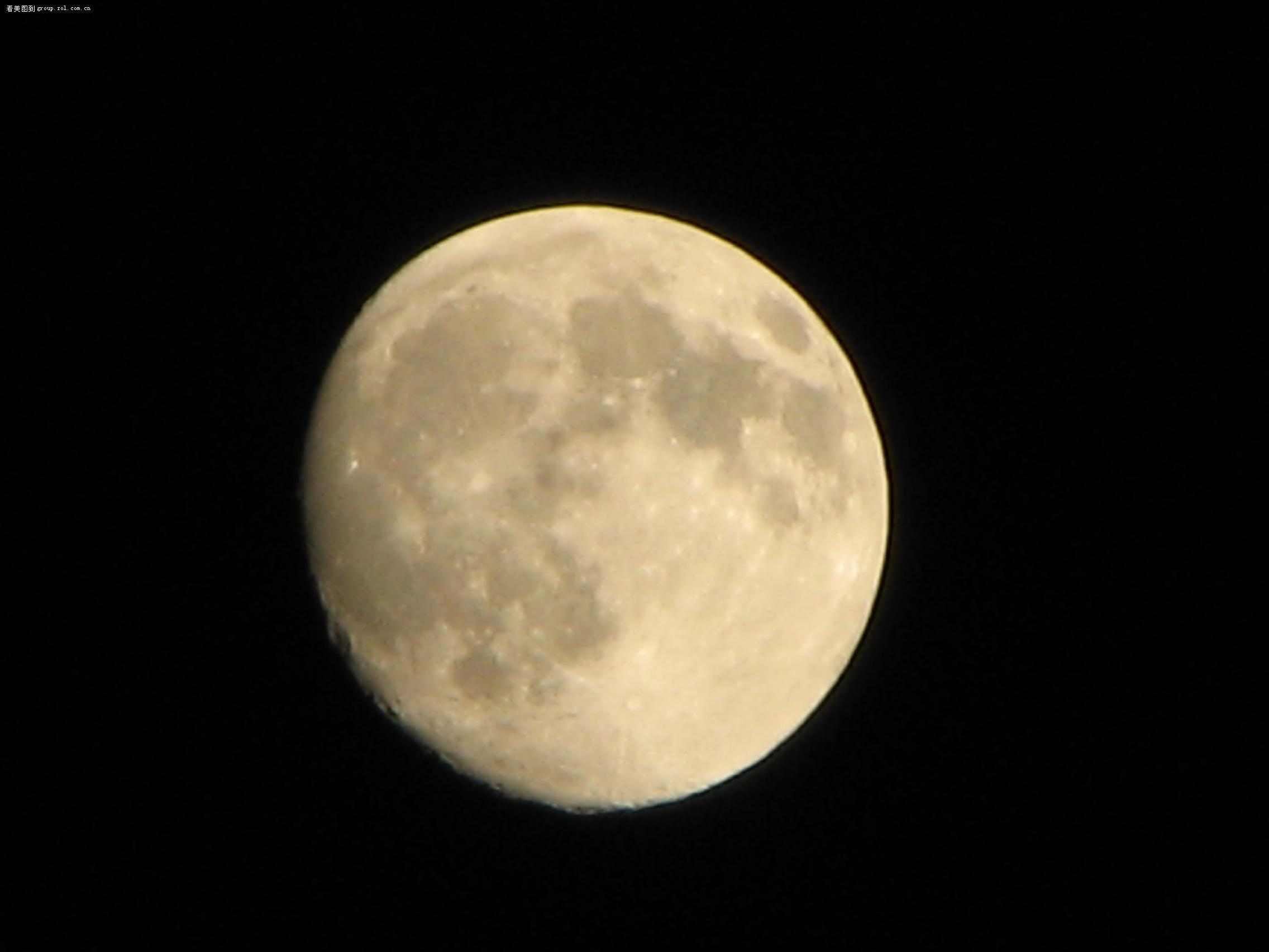 【嫦娥奔向的圆月亮】佳能