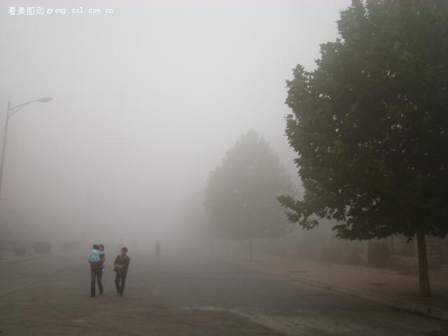 【北京的雾天】索尼 h9-数码摄影论坛-zol中关村在线