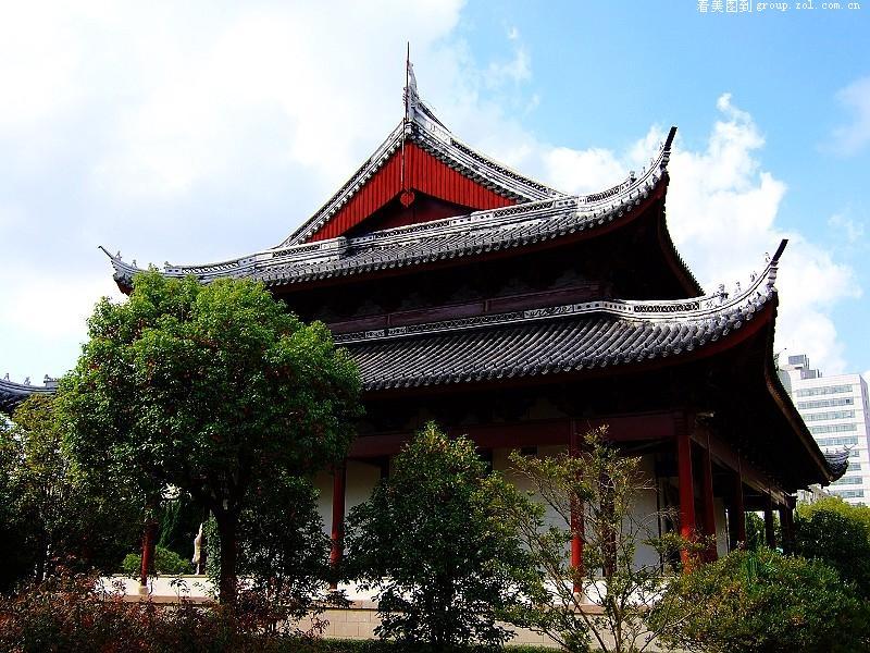 江南风格古建筑