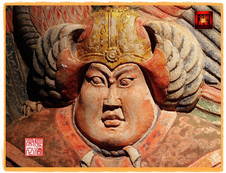 大雁塔凤凰雕塑图片