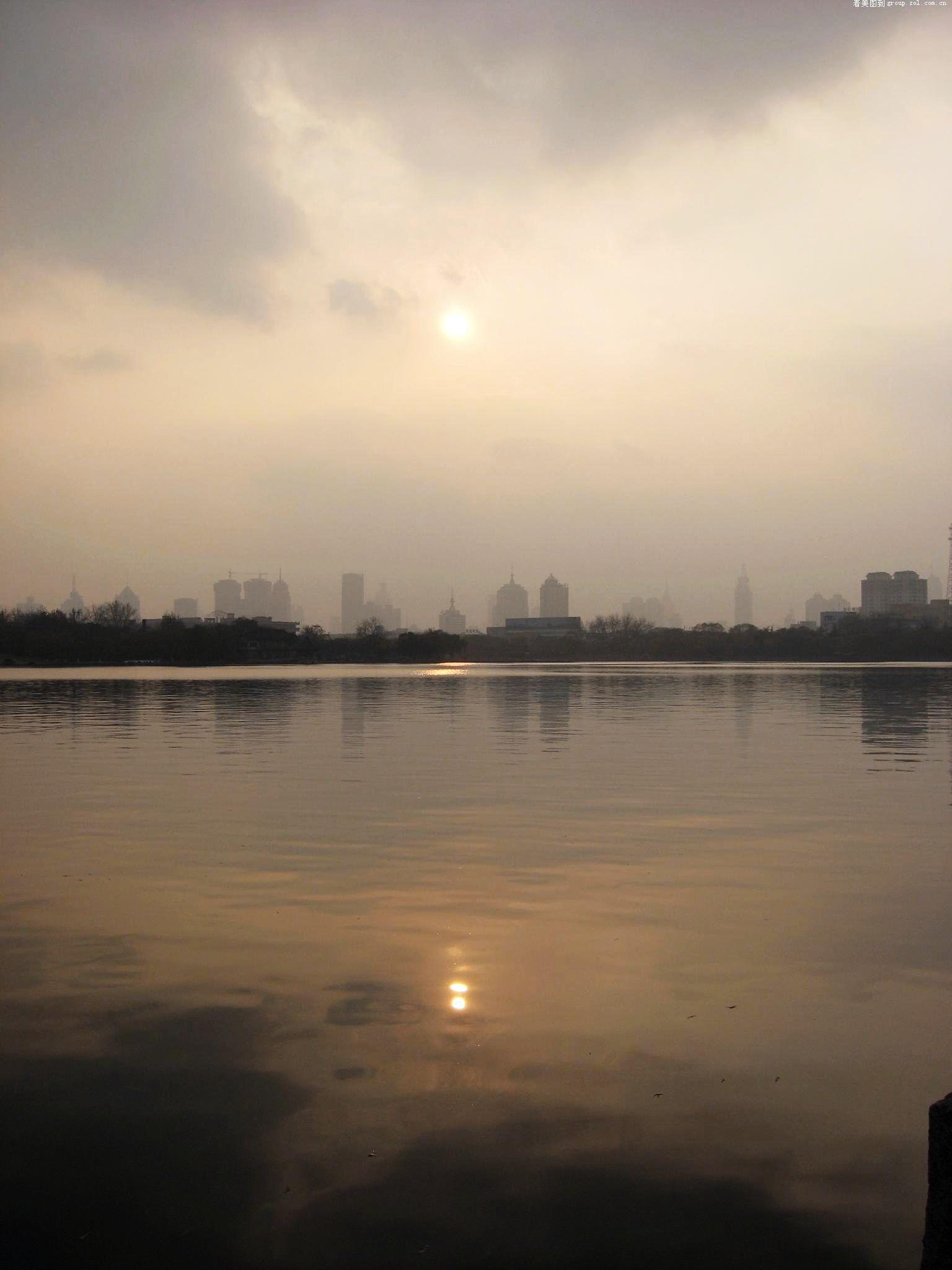 【济南大明湖的风景!】佳能