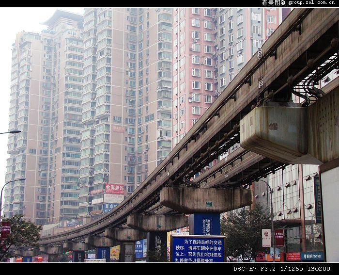 重庆杨家坪街头随拍~-中关村在线摄影论坛