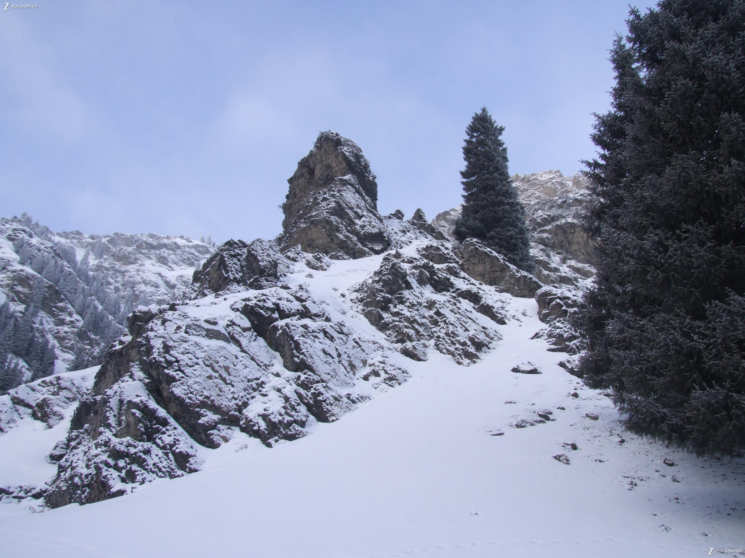 【看看乌鲁木齐南山的雪景】富士