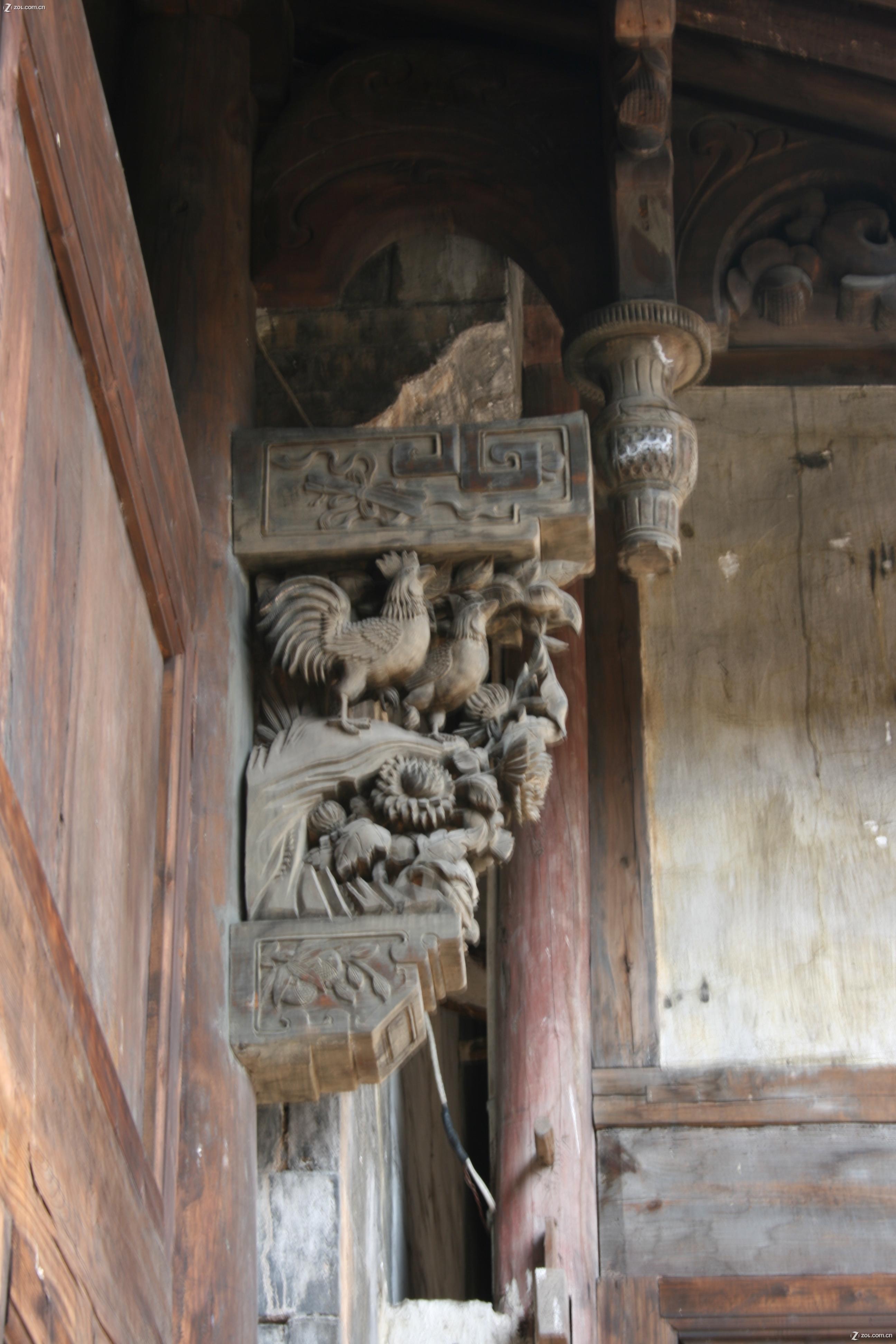 【浙江仙居之旅--老房子-木雕】佳能