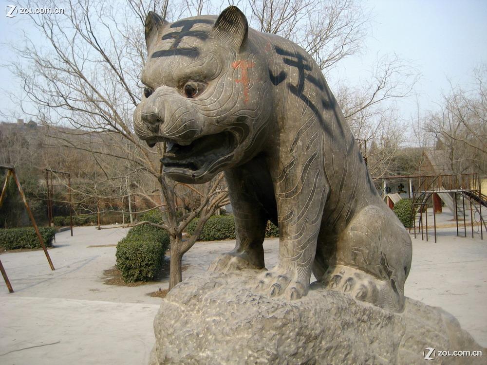 【被破坏的十二生肖雕塑】-富士论坛-zol中关村在线
