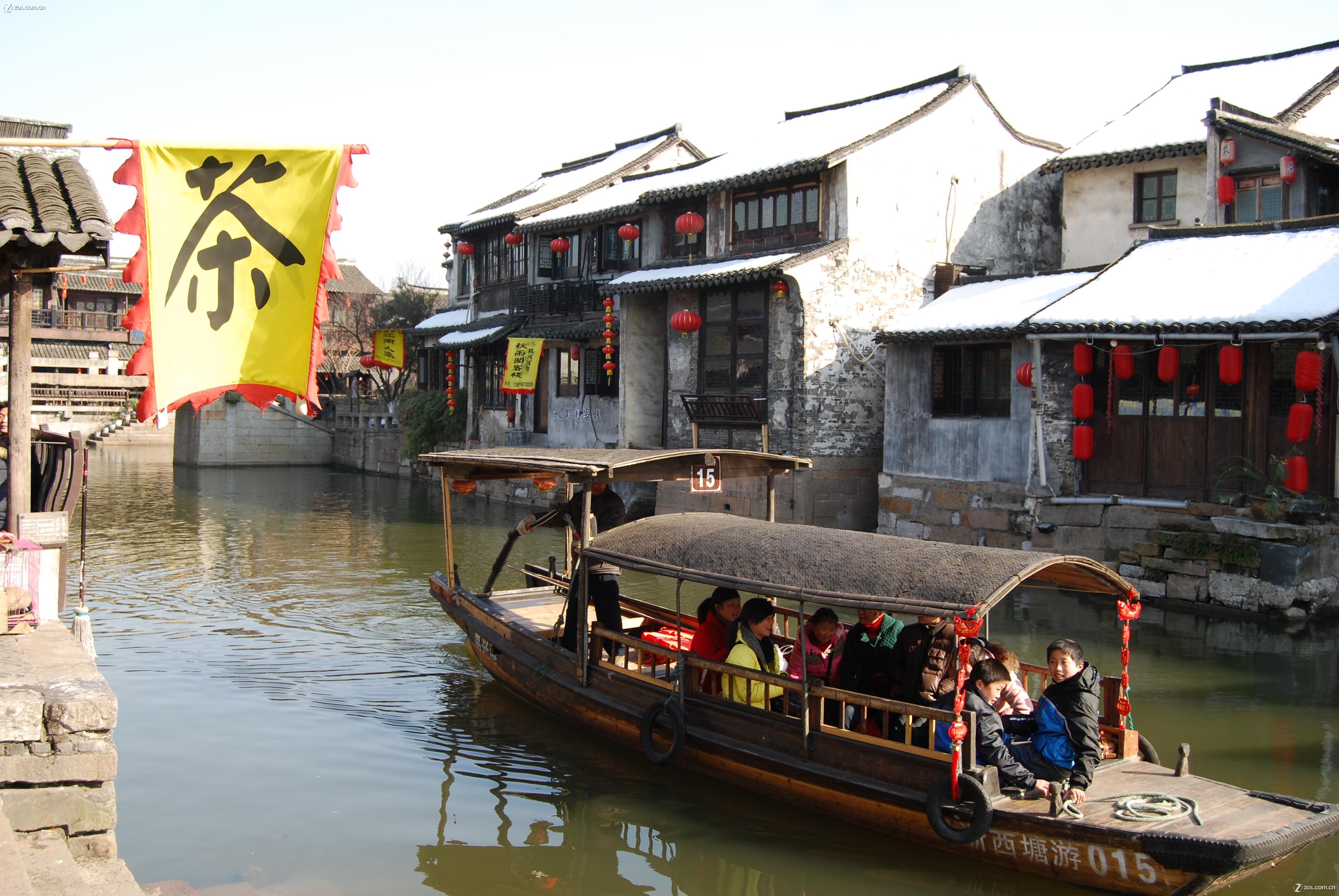 【春节下江南(2)--古镇西塘 西湖灵隐】自然风景-数码