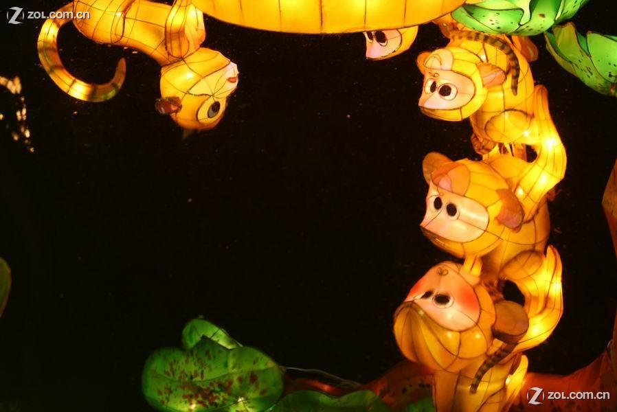 猴子花灯制作方法