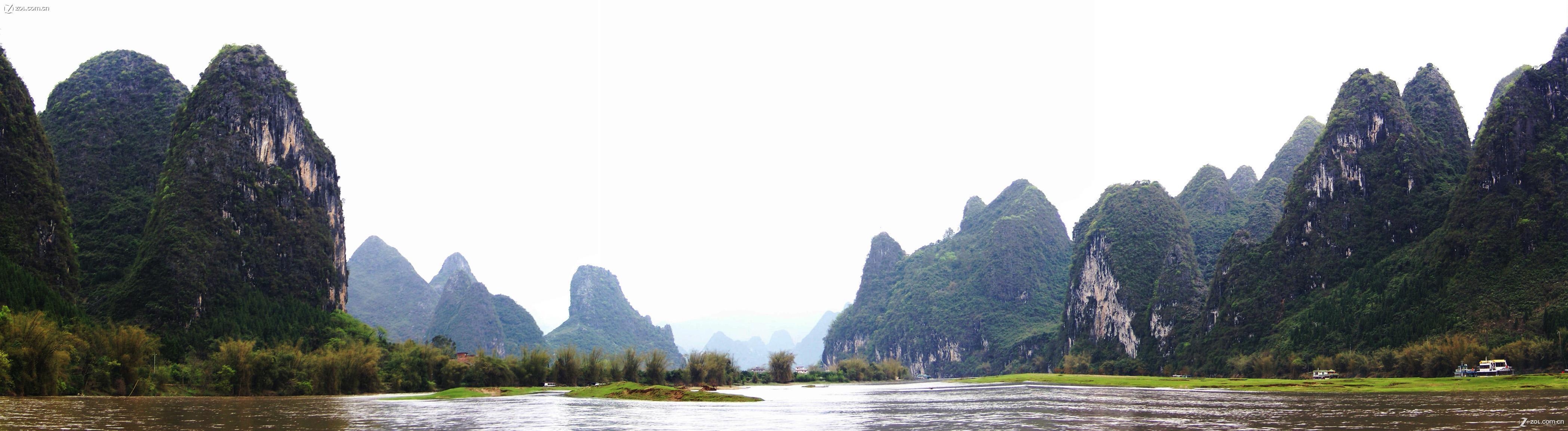 【桂林山水-全景】-自然风景论坛-zol中关村在线