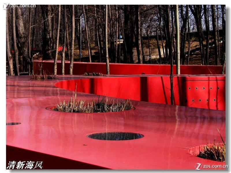 """世界建筑新七大奇迹----秦皇岛""""红飘带"""" (15p)"""