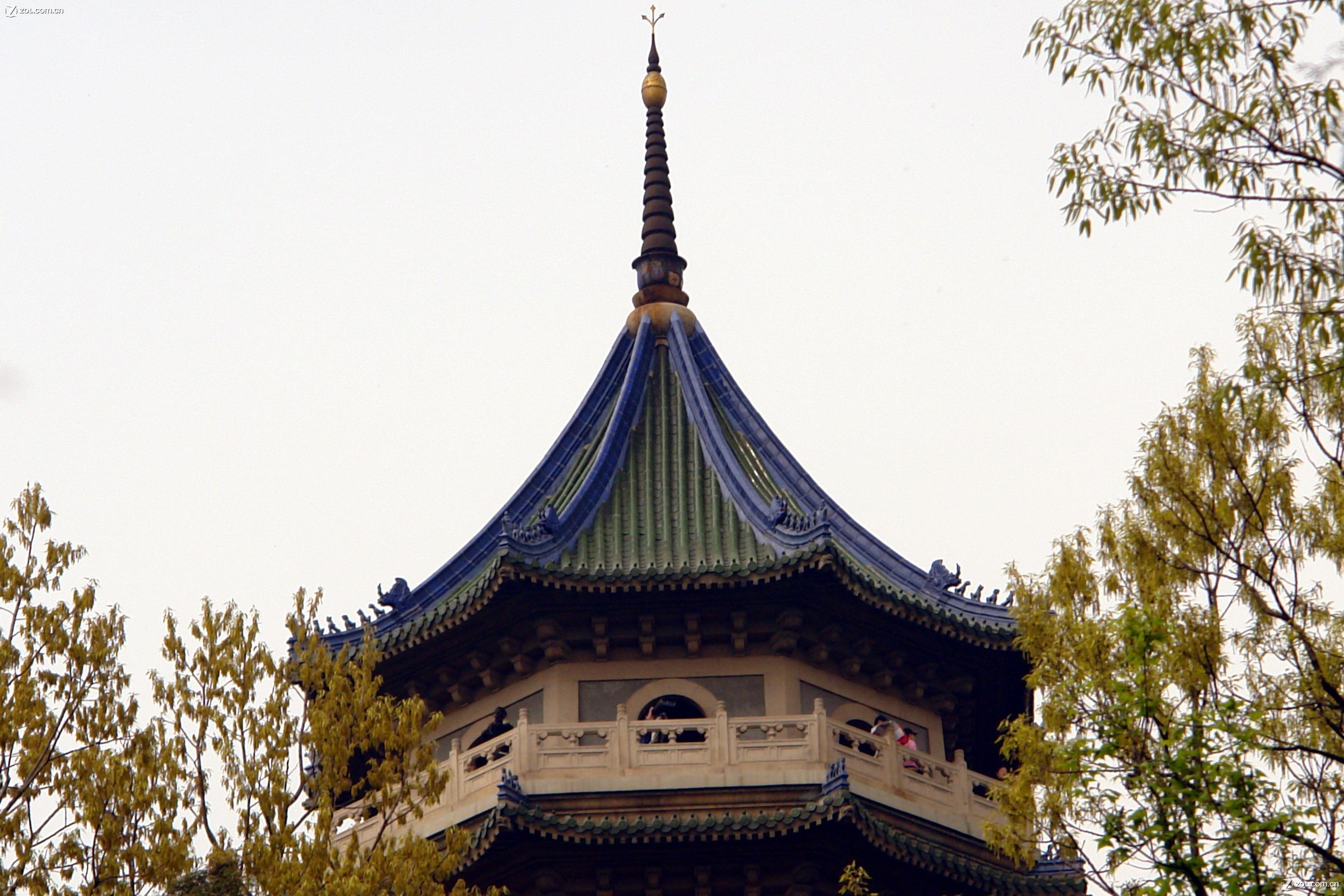 【灵谷寺,灵谷塔】自然风景--zol中关村在线