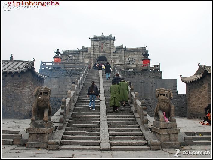 【南岳衡山山顶大庙的圣帝殿】-自然风景论坛-zol