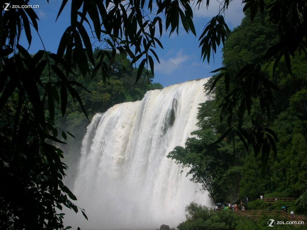 瀑布山水风景图片50