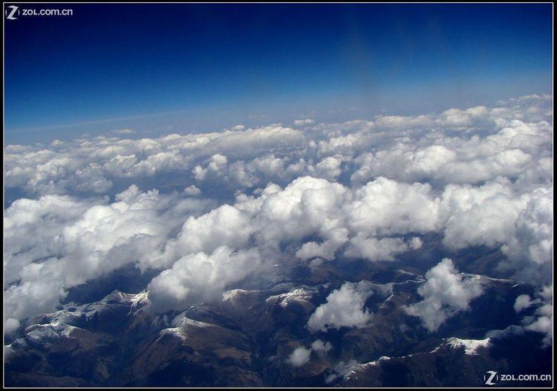 """自然风景论坛 西藏归来·""""航拍""""雪山,夜景"""