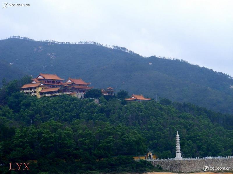 珠海十景之一一金台寺