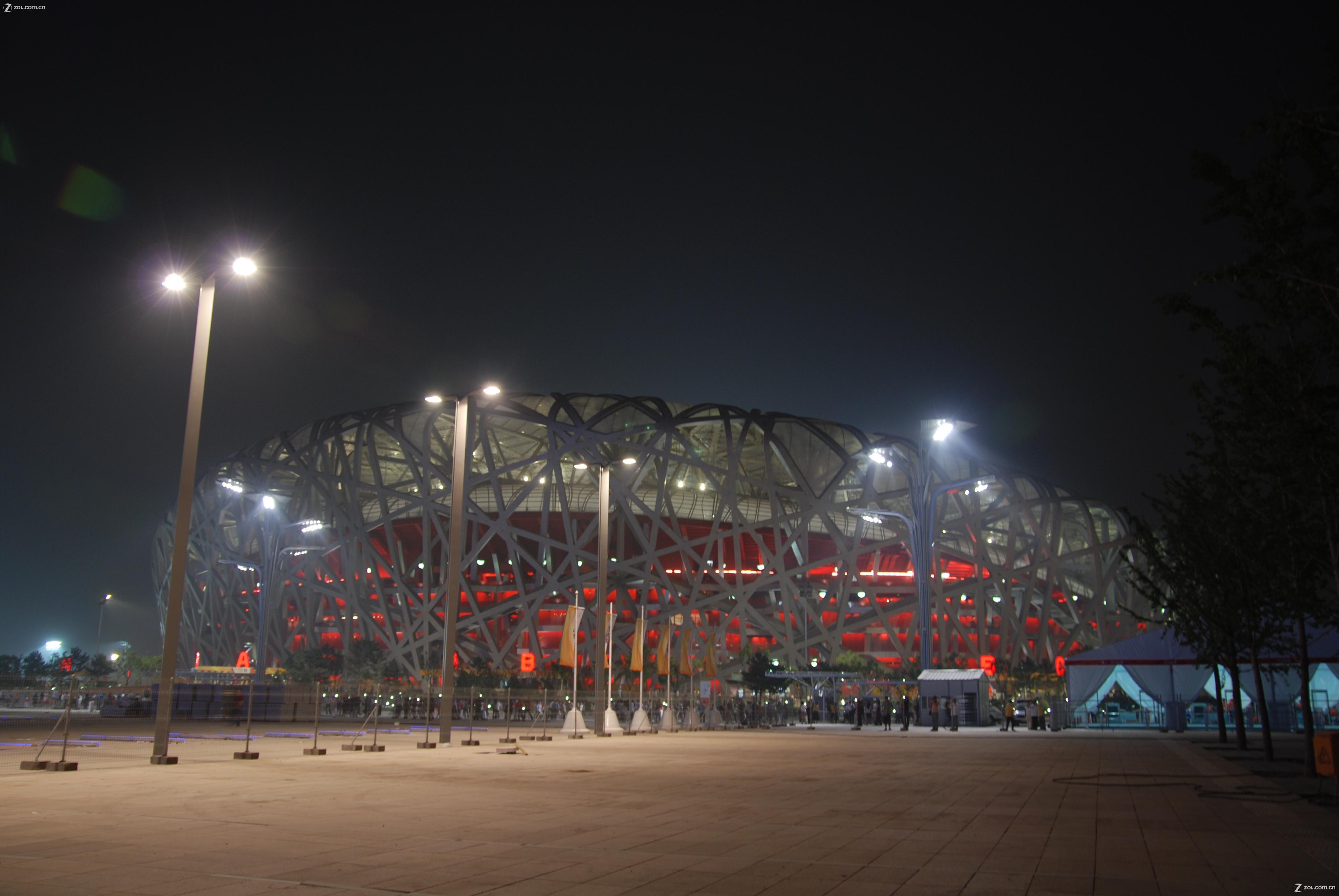 【奥运村夜景】-自然风景论坛-zol中关村在线