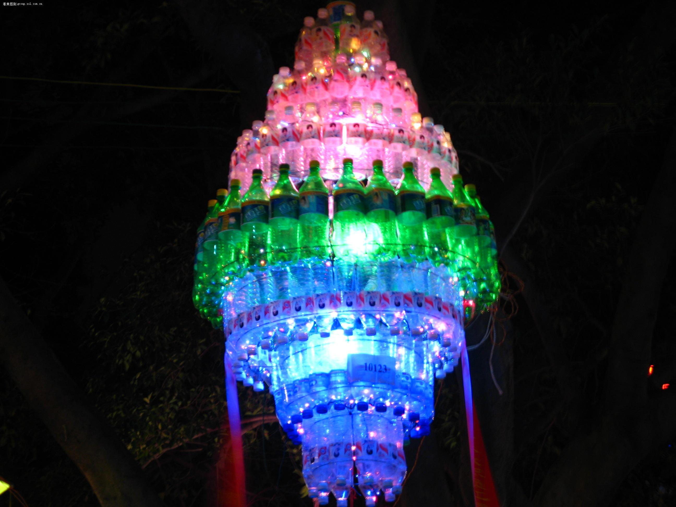 大可乐瓶手工制作灯笼