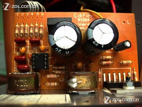 4558运放重低音前置电路图