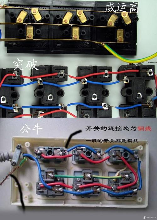 公牛三孔插座怎么接线图解