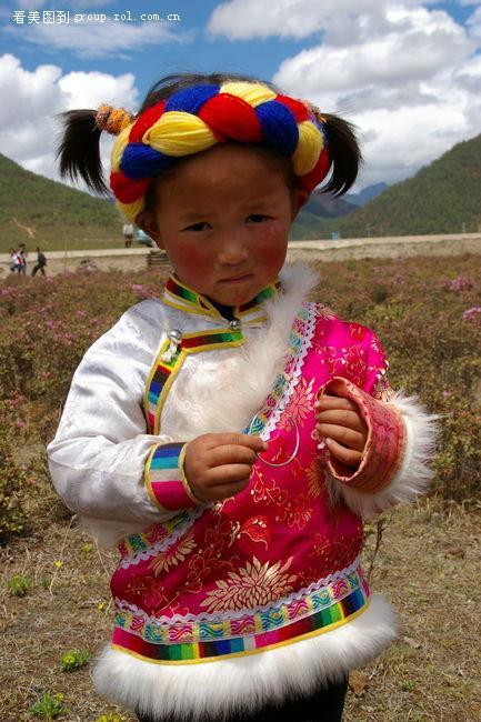 转贴--可爱的藏族小朋友