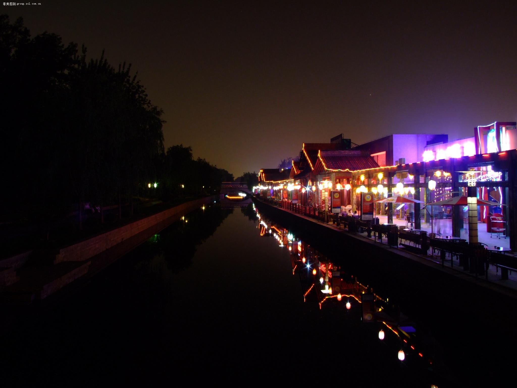 """【北京""""元大都酒吧一条街""""夜景】富士"""