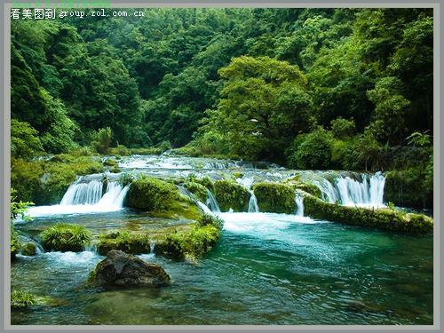 樟江荔波风景图片