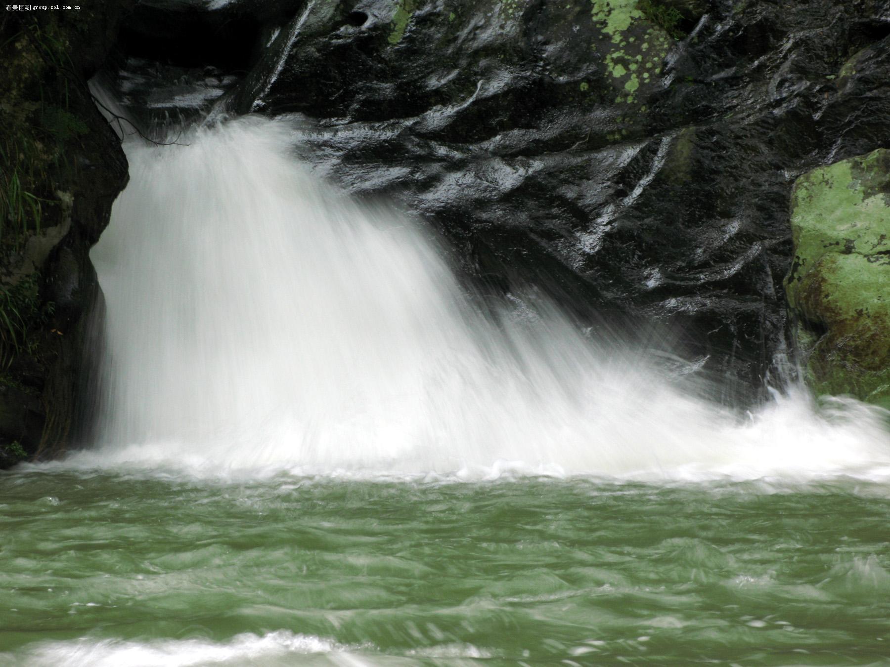 壁纸 风景 旅游 瀑布 山水