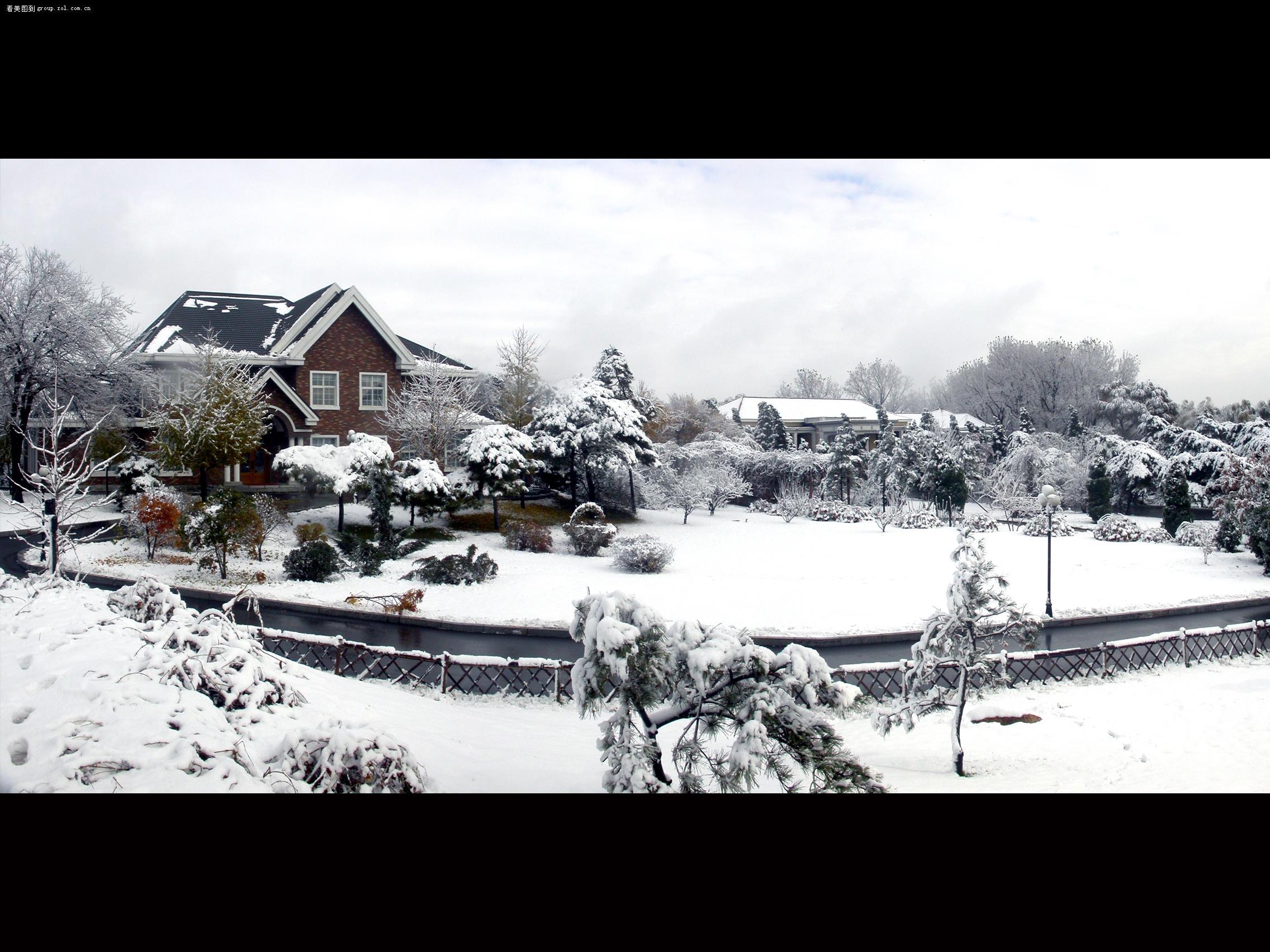 绝美雪景.图片