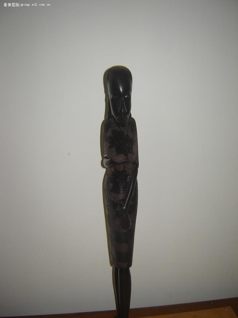 【非洲乌木雕刻品(精品)-难得一见啊!
