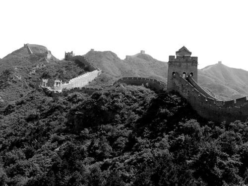 黑白——万里长城