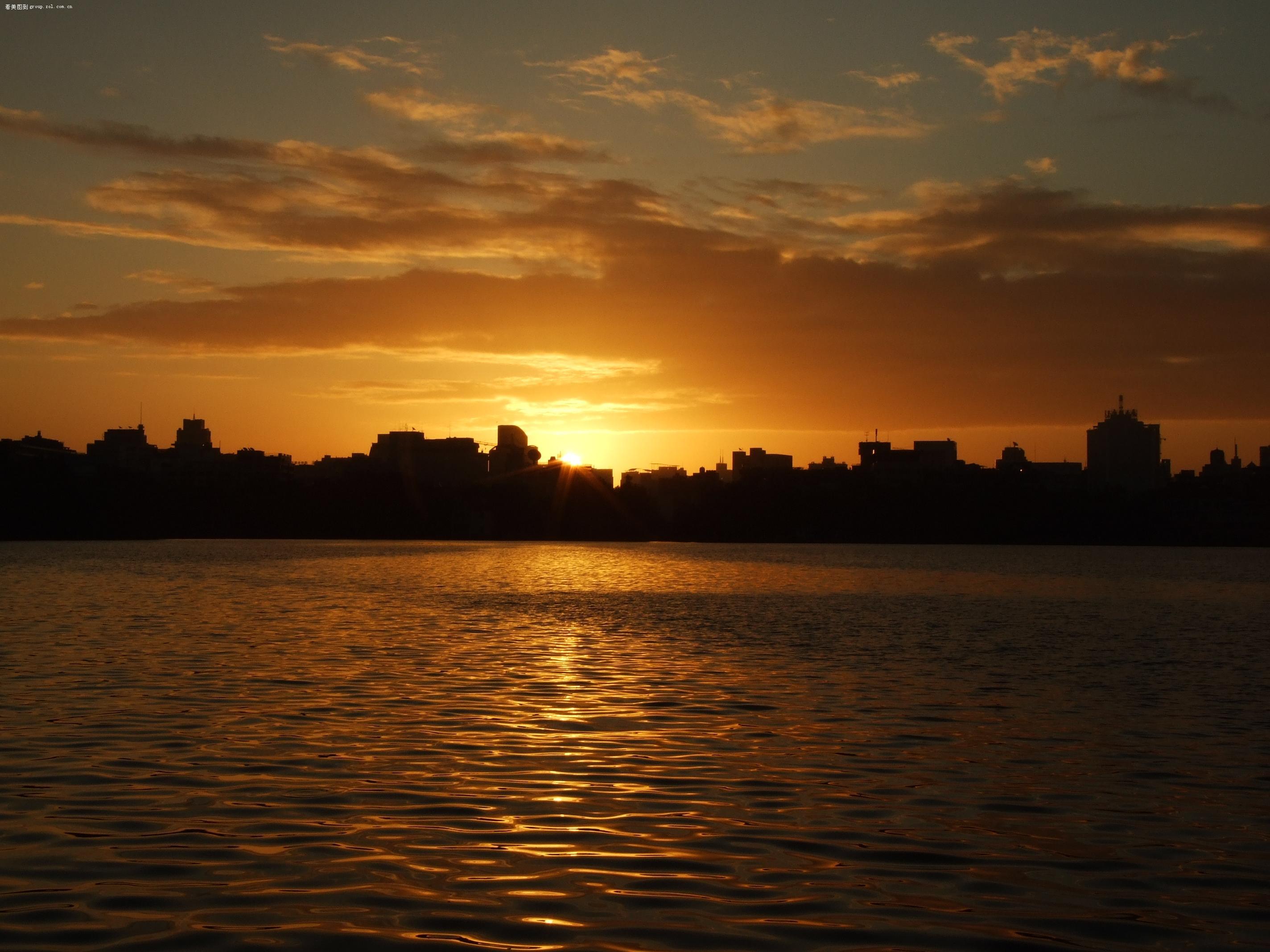 【太阳刚刚升起来的时候】-自然风景论坛-zol中关村