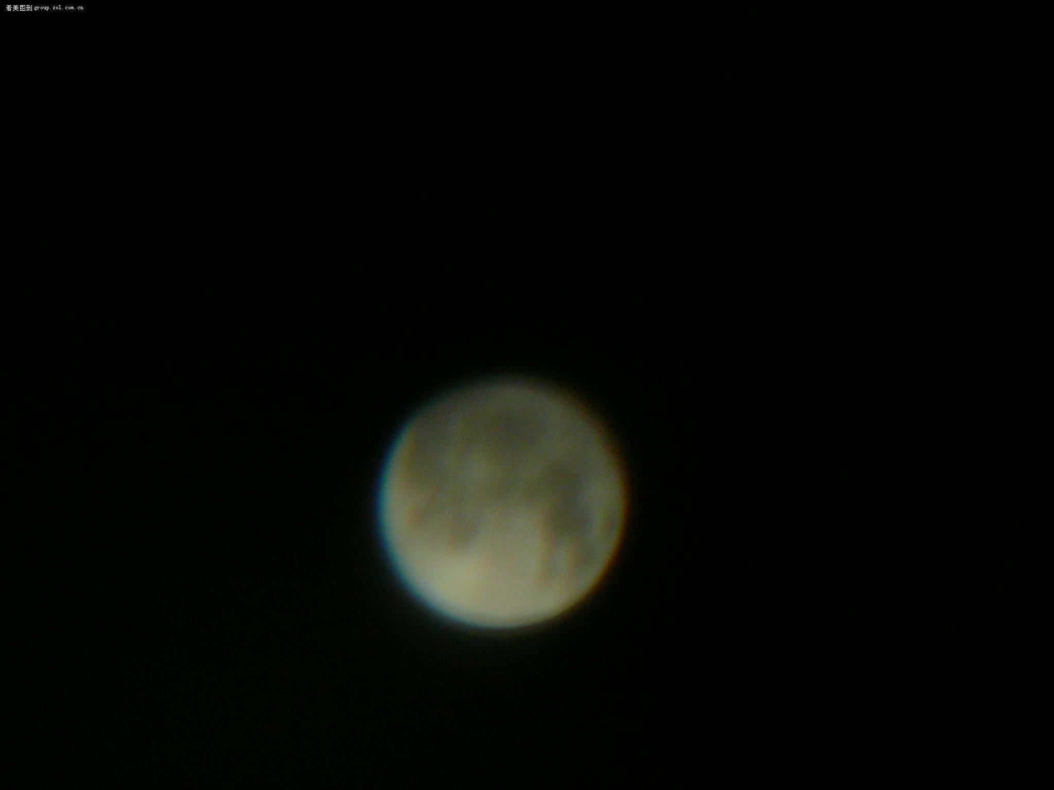 【拿望远镜拍月亮】-松下