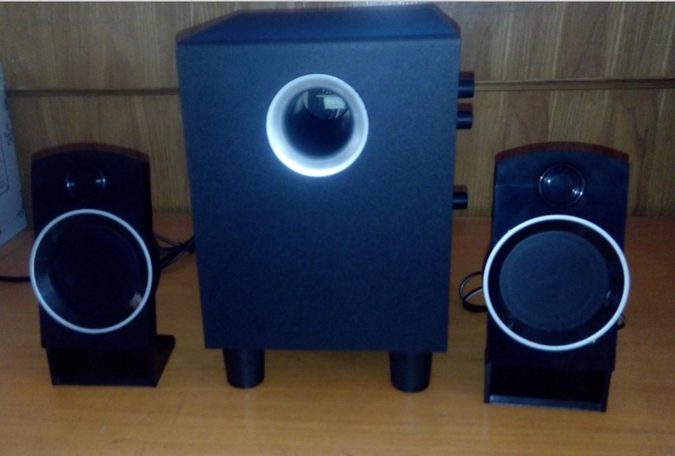 1有源音箱hifi音响木制低音炮便宜甩卖