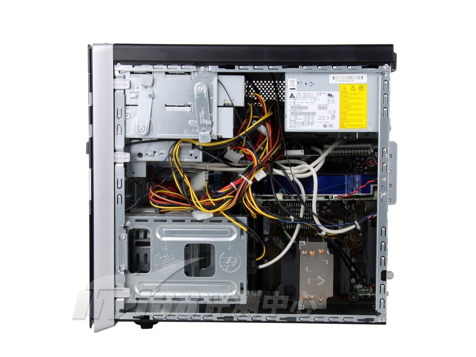 惠普电脑主机怎么拆开后盖图解
