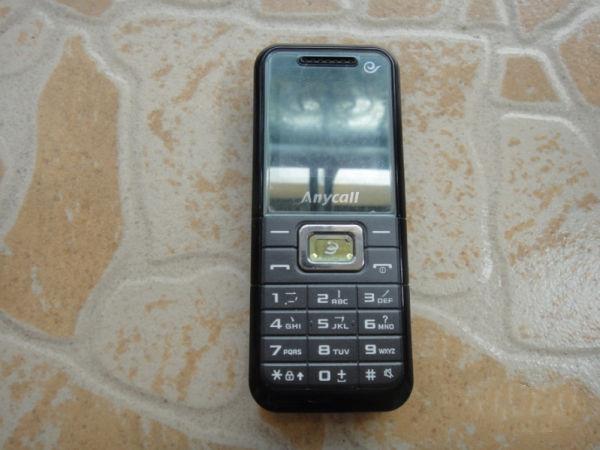 自用 三星 b309 cdma手机 一电一充 正品实物图