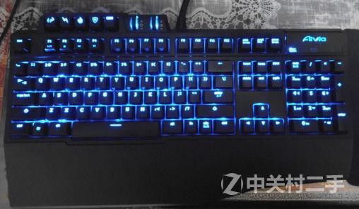 机械式游戏键盘_【九成新】技嘉 aivia osmium机械式游戏键盘 红轴