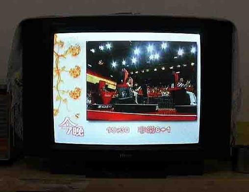 低价转让25寸海尔彩色电视-crt普通电视-二手库