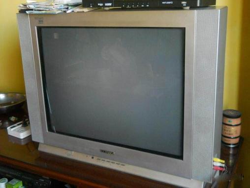 转让自用29寸康佳纯平彩色电视机-crt普通电视-二手
