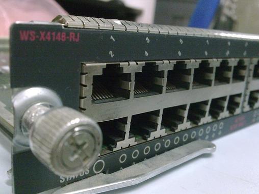 ws-c4506核心交换机48口业务板