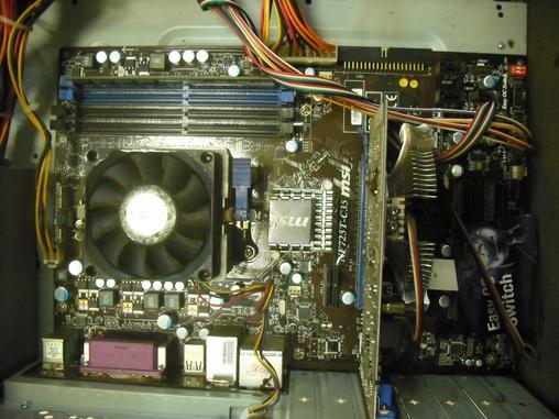 微星G41,P43,X58,725,双敏880G,技嘉P35主板各一块图片