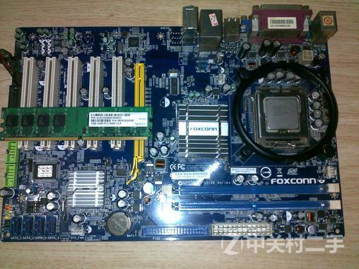 foxconn g31平台主板+cpu+内存