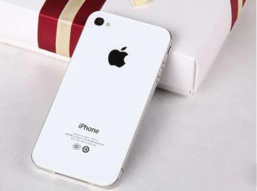 港版iphone4白色8g,全新未开封