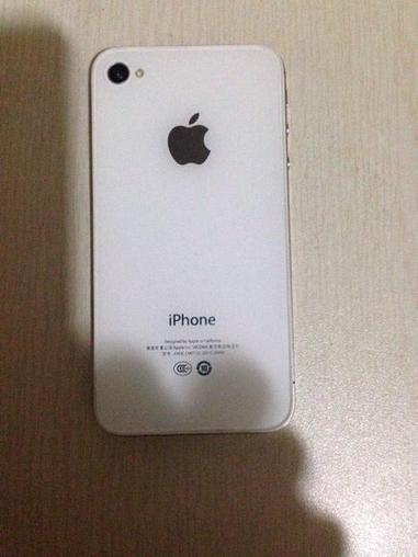 【二手苹果iPhone4S】苹果4S 国航 白色-二手