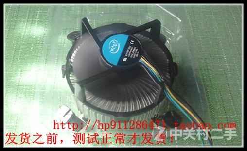 台式电脑散热器775cpu风扇