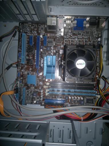 出售amd 955*4核 华硕m4a88t-m 酷冷机箱 长城电源