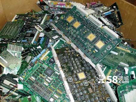 大量回收废旧线路板回收电子元器件回收废旧蓄电池等