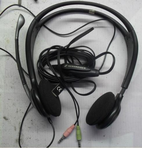 出森海塞尔pc131耳机