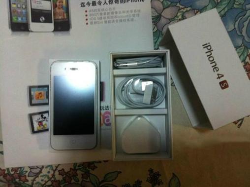 【二手苹果 iPhone 4S(16GB)】iphone4S 白色
